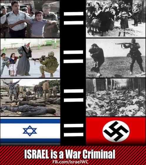 ISRAEL CRIMINAL DE GUERRA