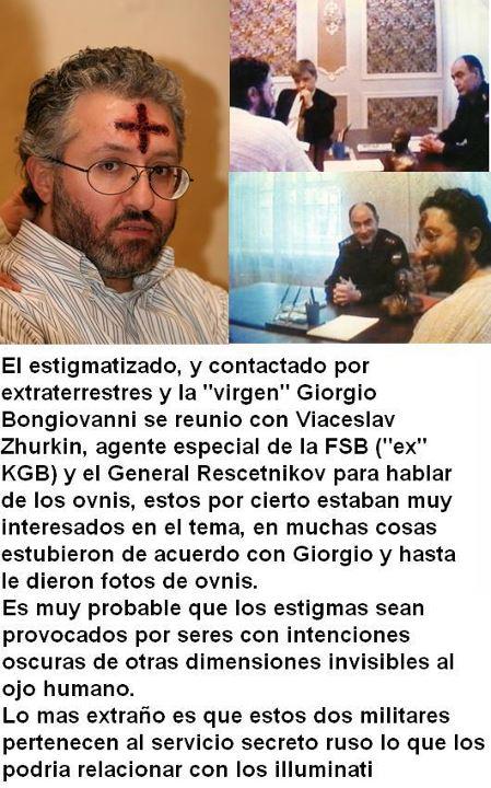 estigmagtizado Giorgio Bongovani