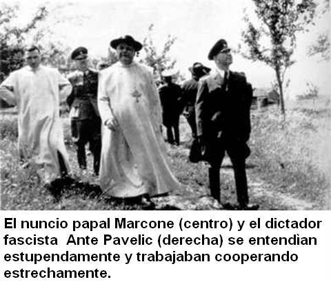 papa Marcone - fascista Ante Pavelic