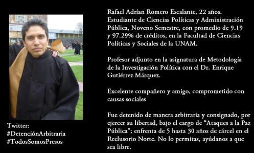 RAFAEL ADRIAN ROMERO ESCALANTE