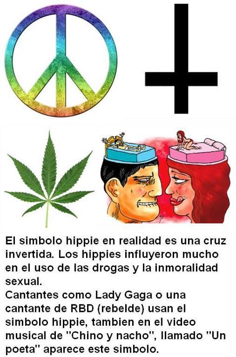 simbolo hippie