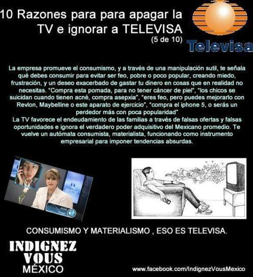 10 RAZONES P_NO VER TELEVISA