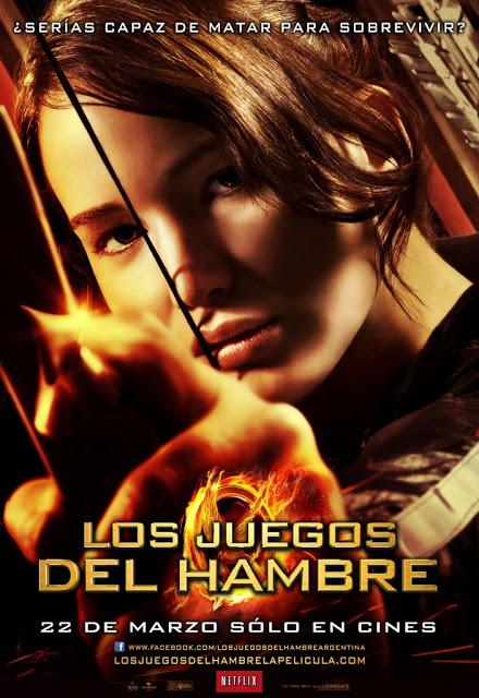 Poster Los Juegos del Hambre Español Latino 2012