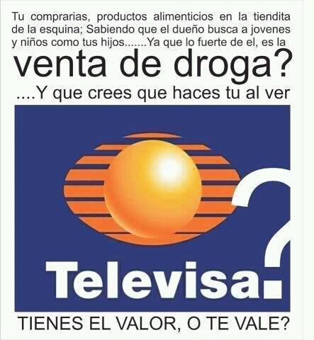 VENTA DE DROGA TELEVISA