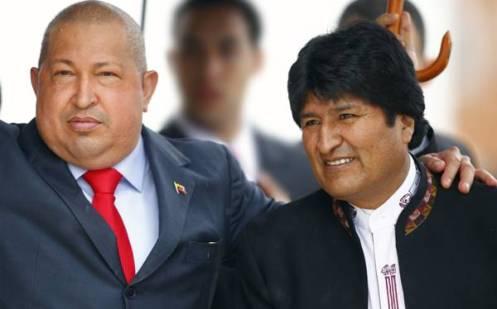 Evo Morales... cáncer nasal