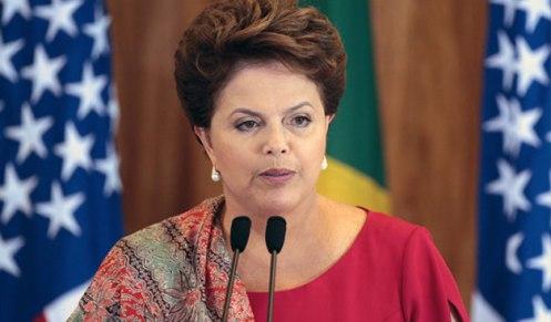 Dilma Rousseff con cáncer linfático del cualse curó mágicamente en febrero del 2013