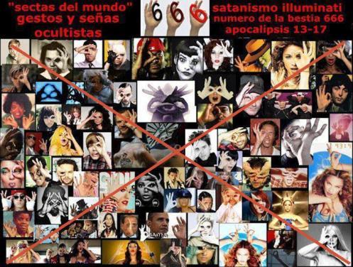 gestos y señas ocultistas