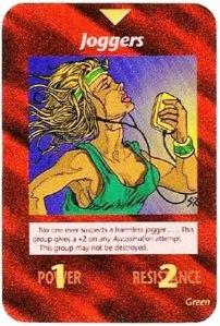 Illuminati Card Game Joggers Marathon 2013