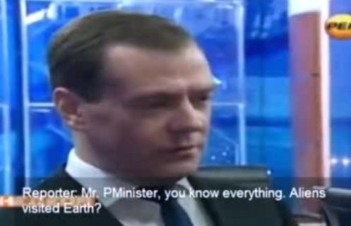Medvedev extraterrestres