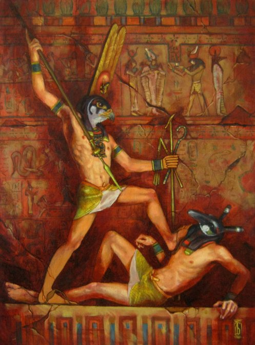 horus_and_set_by_glaringdragon-d4ke44s