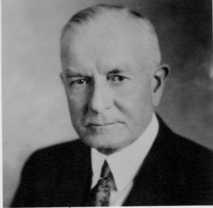 El presidente de IBM, Thomas J. Watson