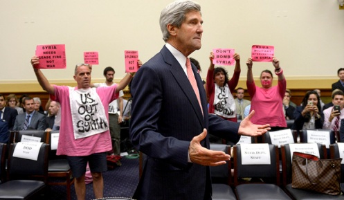 Kerry, Hagel testify to House on use of force in Syria