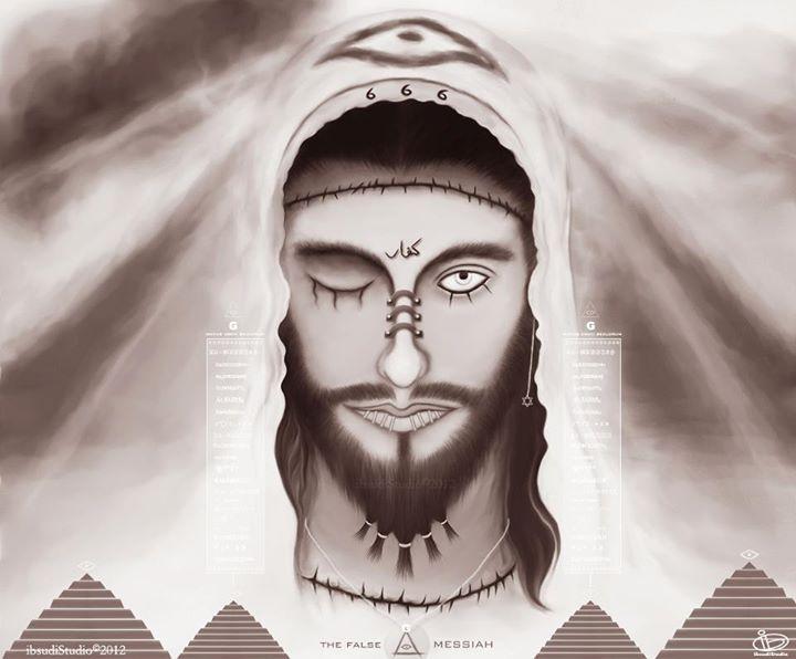 """El Dajjal, """"el mentiroso de un sólo ojo"""", una especie de Jesús en negativo, el anticristo."""