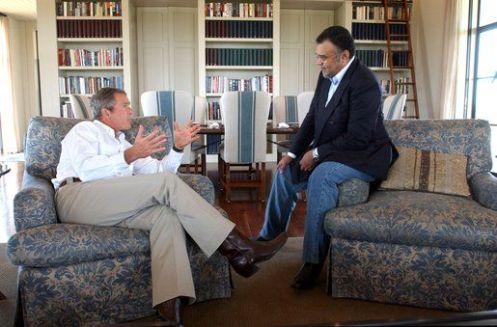 "Bush: ""Bandar es como de la familia"""
