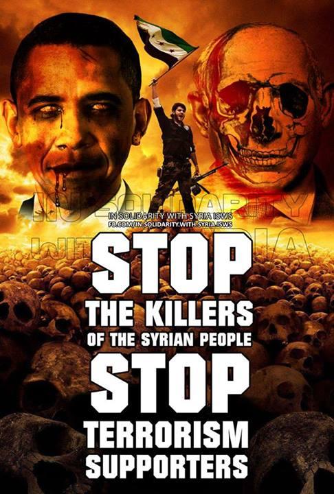 STOP DE KILLERS SIRIA