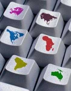 El mundo globalizado. Fuente: dinerodesdetuordenador.blogspot.com