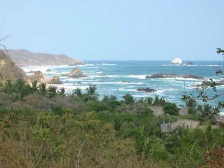 Playa Mazunte.  Foto: Especial.