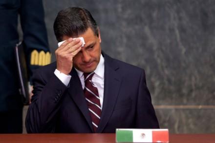 El titular del Ejecutivo, Enrique Peña Nieto.  Foto: Eduardo Miranda