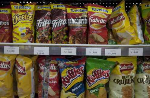 Desde el miércoles subieron los precios de varios productos chatarra y de bebidas endulzadasFoto Cristina Rodríguez