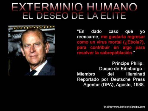 EXTERMINIO HUMANO