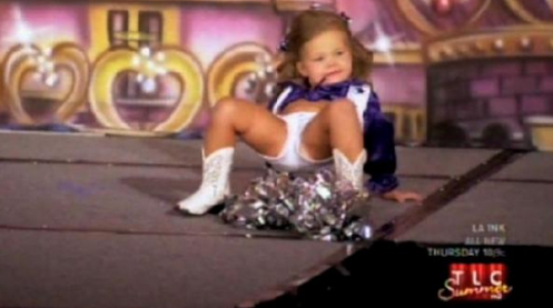 "EXTREMELY DISTURBING! From A Show, ""Toddlers and Tiaras"", See Advertisement Photo Below"