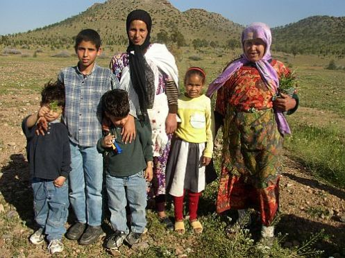 "Muchos ""moros"" son de origen bereber, no árabe, como esta familia marroquí"