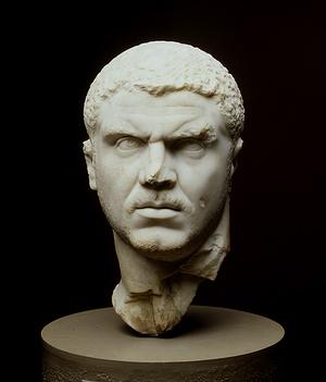 """Caracalla, hijo de Séptimo Severo, que construyó los famosos baños, era de origen """"moro"""""""