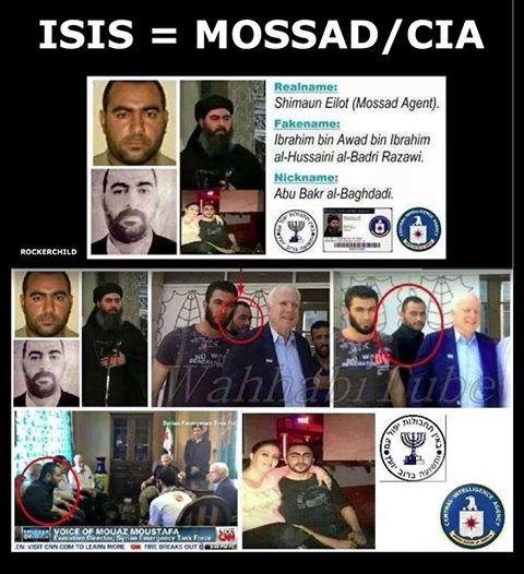 ISIS=MOSSAD=CIA