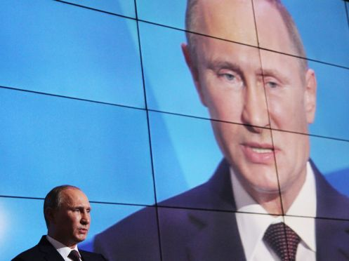 Putin Speaks At Valdai Club Meeting