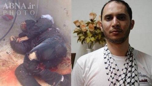 Cuerpo del mártir 'Moataz Hiyazi', 32 años, ejecutado extrajudicialmente por el régimen de Israel por ser sospechoso de intento de asesinato del rabino fundamentalista Yehuda Glick