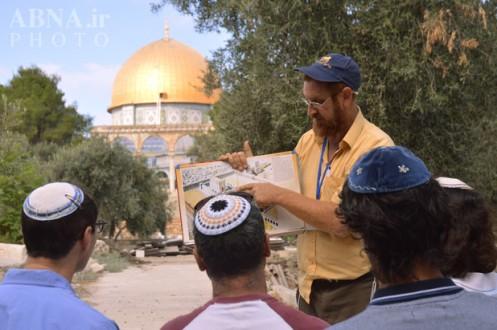 Rabino funtamentalista de ultraderecha sionista 'Yehuda Glick' principal activista por la demolición de la Mezquita al-Aqsa