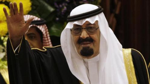 El fallecido rey saudí, Abdolá bin Abdulaziz Al Saud
