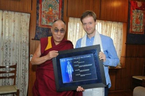 Dmitry_Itskov_Russia2045_Dalai_Lama_Dharamsala_Avatar_blessing