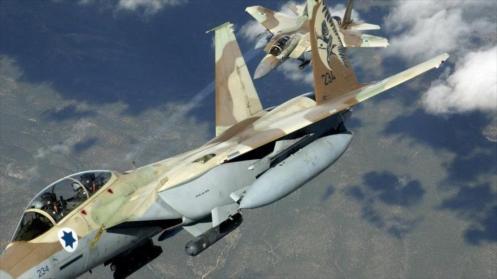 Cazas israelíes