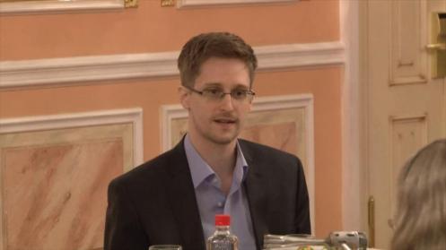 El exanalista de la Agencia de Seguridad Nacional de Estados Unidos, Edward Snowden