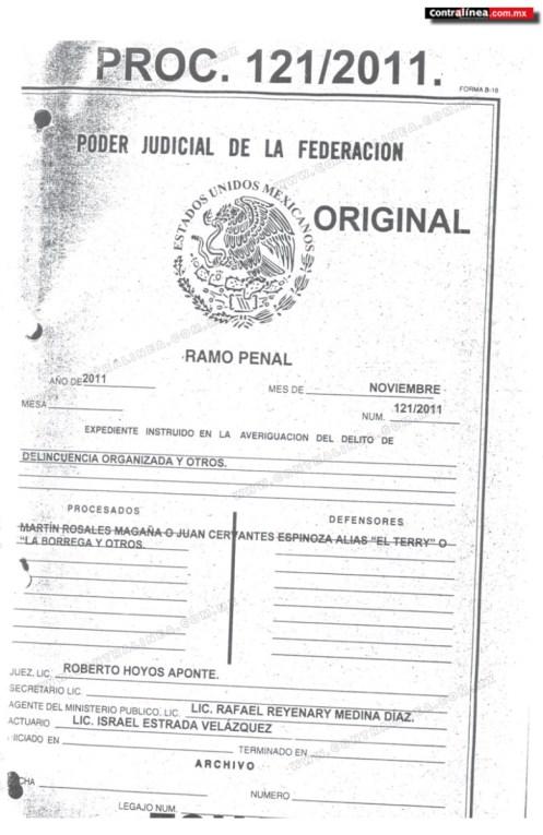 Testimonio de Rosales Magaña