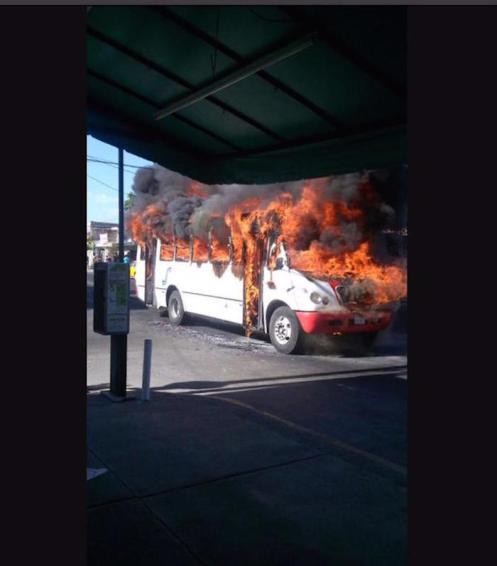 En redes sociales se han reportado enfrentamientos. Foto: Twitter vía @salvadorcosio1