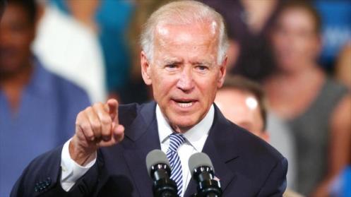 El vicepresidente estadounidense Joseph Biden