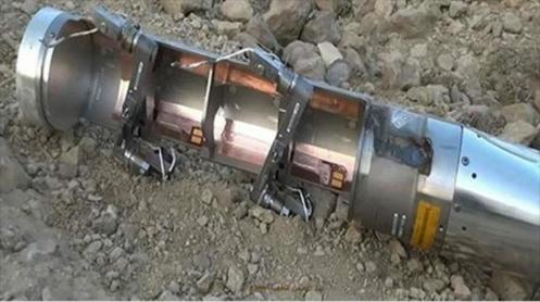 Una bomba de racimo.