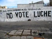 NO VOTE LUCHE