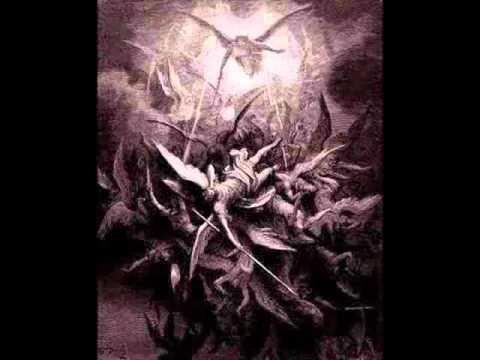 Pelea entre ángeles y demonios