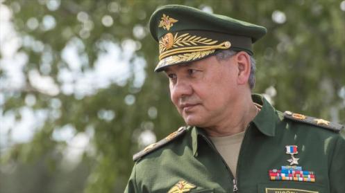 El ministro ruso de Defensa, Serguei Shoigu.
