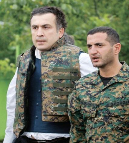 Mikhail Saakashvili y David Kezerashvili