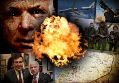 FALSA BANDERA: JOHN McCAIN PRETENDE DERRIBAR UN AVIÓN DE EEUU EN ...