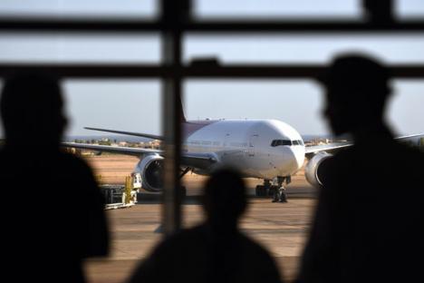 Turistas rusos en el aeropuerto de Sharm el-Sheikh. Fuente:AFP / East News