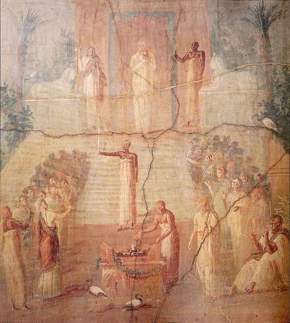 Imagen de las ceremonias del Pelusia
